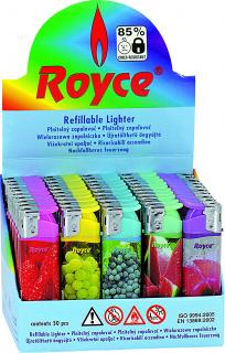 Zapalovač Royce 31790 FRUITS